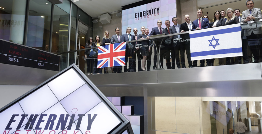 Ethernity Networks in London AIM